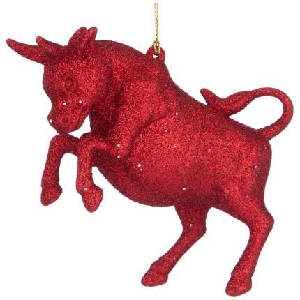 Елочная игрушка Lefard Бык символ года 2021 865-472 8,5 см 1 шт.