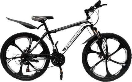 "Велосипед TrioBlade Fumeirui 2021 17"" black"