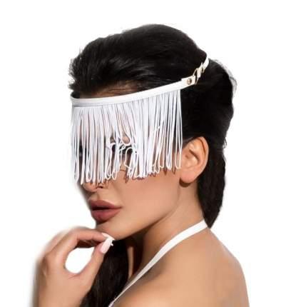 Украшение на голову Me Seduce Queen of hearts с длинной бахромой, белое, OS
