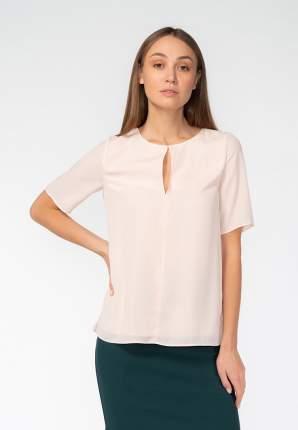 Блуза женская Modis M201W00078 бежевая 48 RU