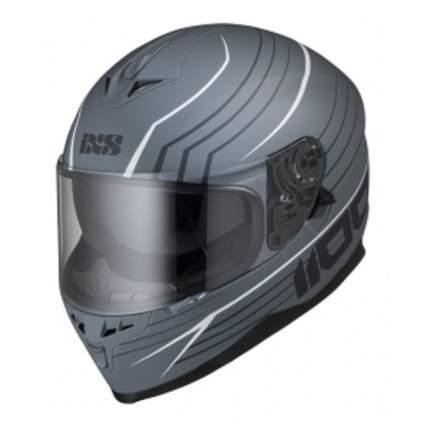 Мотошлем-интеграл HX 1100 2.1 X14075 M91 matt grey-white XL