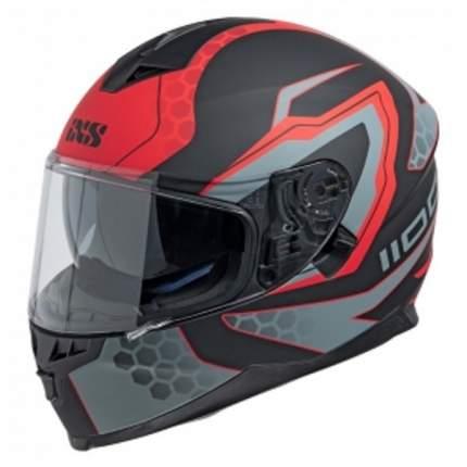 Мотошлем-интеграл HX 1100 2.2 X14082 M32 black-red XL