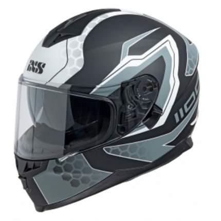 Мотошлем-интеграл HX 1100 2.2 X14082 M31 black-white XL
