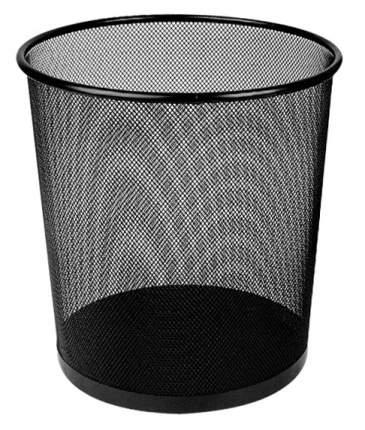 Корзина для бумаг Deli E9190, черный, 12 литров