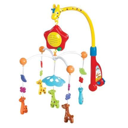 Мобиль на кроватку Наша игрушка Жирафики