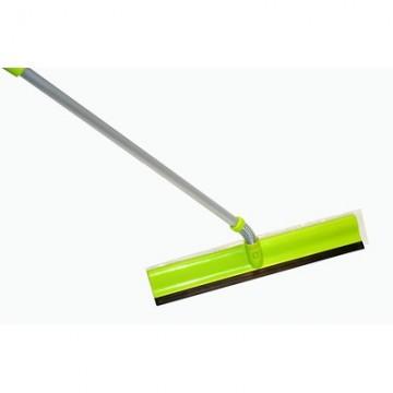 Комплект для мытья стекол: водосгон с поролоновой губкой, телескопическая ручка