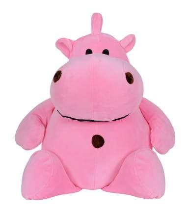 Мягкая игрушка Sima-Land Бегемотик розовый, 30 см