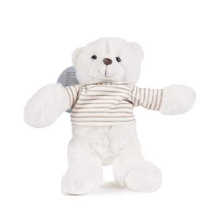 Мягкая игрушка Bebelot Белый медведь в футболке, 15 см