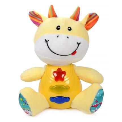 Мягкая игрушка Elefantino Жираф со световыми и звуковыми эффектами