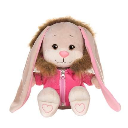 Мягкая игрушка Jack&Lin Зайка в розовой зимней куртке, 25 см