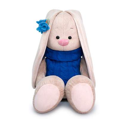 Мягкая игрушка BUDI BASA Зайка Ми большой в жилетке, 34 см