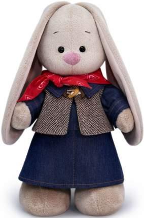Мягкая игрушка BUDI BASA Зайка Ми в джинсовом платье, 25 см