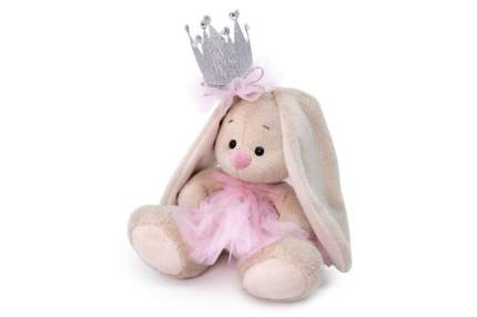 Мягкая игрушка BUDI BASA Зайка Ми с короной, 15 см