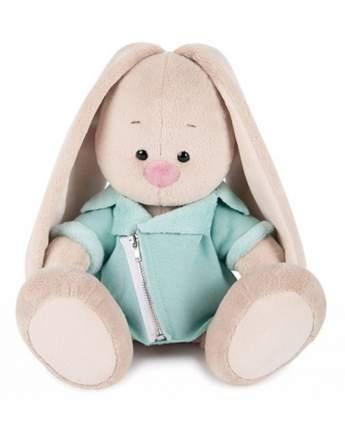 Мягкая игрушка BUDI BASA Зайка Ми в голубой меховой курточке, 23 см