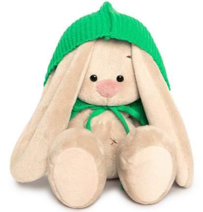 Мягкая игрушка BUDI BASA Зайка Ми в зеленом пончо, 15 см