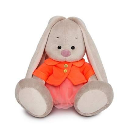Мягкая игрушка BUDI BASA Зайка Ми в оранжевой куртке и юбке, 18 см