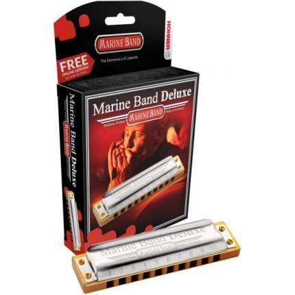 Губная гармоника диатоническая HOHNER Marine Band Deluxe 2005/20 Ab