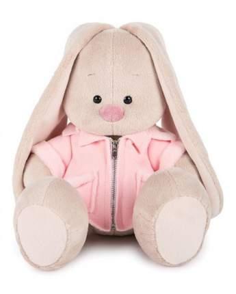 Мягкая игрушка BUDI BASA Зайка Ми в розовой меховой курточке, 18 см