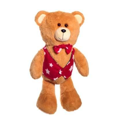 Мягкая игрушка Нижегородская игрушка Зоопарк в жилетке Медведь, 40 см