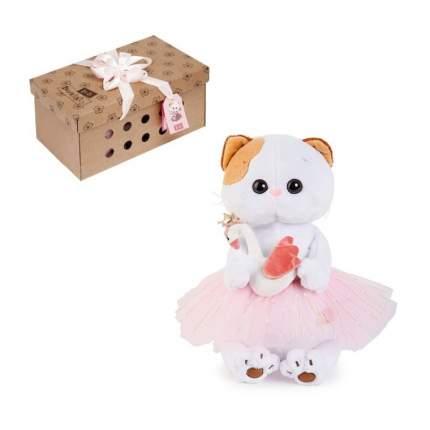 Мягкая игрушка BUDI BASA Кошечка Ли-Ли балерина с лебедем, 27 см