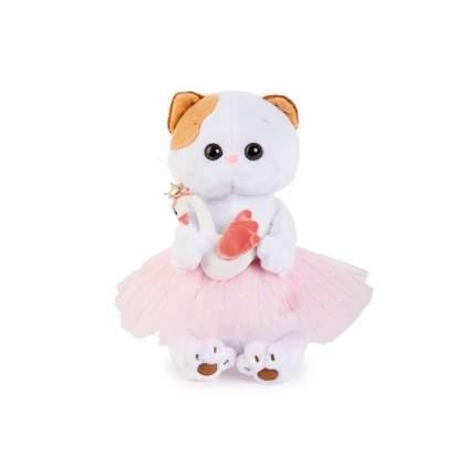 Мягкая игрушка BUDI BASA Кошечка Ли-Ли балерина с лебедем, 24 см