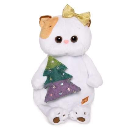 Мягкая игрушка BUDI BASA Кошечка Ли-Ли с елочкой, 24 см