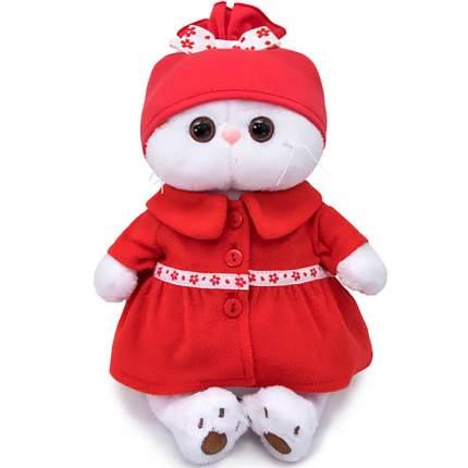 Мягкая игрушка BUDI BASA Ли-Ли в красном пальто, 24 см