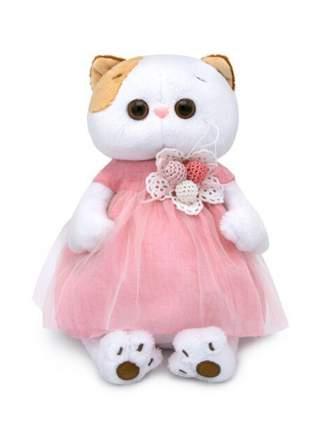 Мягкая игрушка BUDI BASA Ли-Ли в платье с вязаными ягодками, 24 см