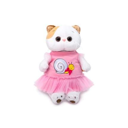 Мягкая игрушка BUDI BASA Ли-Ли в платье с принтом Улитка, 27 см