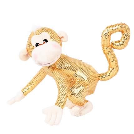 Мягкая игрушка Bebelot Мартышка желтая, 22 см