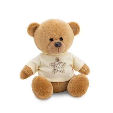 Мягкая игрушка Orange Медведь Топтыжкин коричневый звезда, 25 см