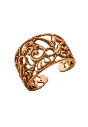 Кольцо Кудесы 9015 Лев золотистое размер 20