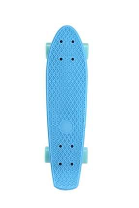 Круизер пластиковый PLANK MINIBOARD 22 (Голубой)