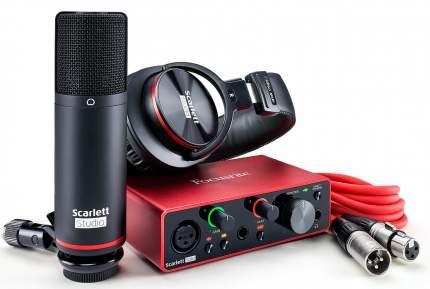 Аудиоинтерфейс Focusrite Scarlett Solo Studio 3rd Gen Red