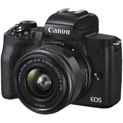 Фотоаппарат системный Canon EOS M50 Mark II 15-45mm Black