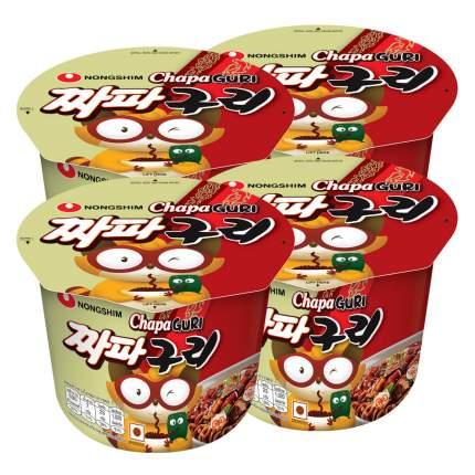Лапша быстрого приготовления Чапагури Nongshim, чашка 114 г х 4 шт