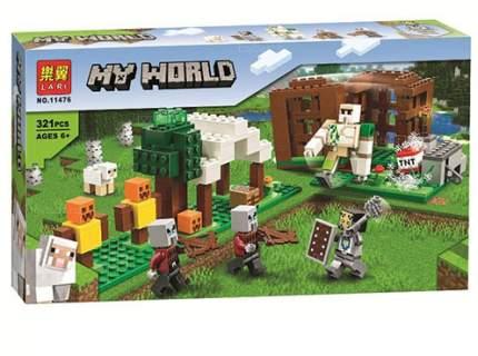 Конструктор LARI 11476 Minecraft Аванпост разбойников