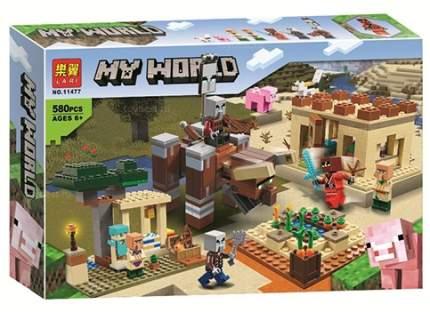 Конструктор LARI 11477 Minecraft Патруль разбойников