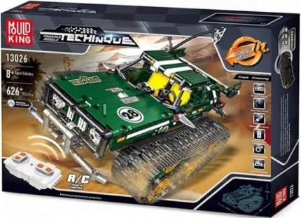 Электромеханический конструктор Mould King Technique 13026 Вездеход зеленый