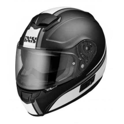 Мотошлем-интеграл HX 215 2.1 X14076 M19 Black-white L