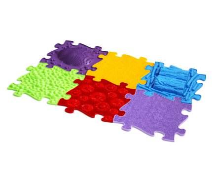 Набор модульных ковриков ИграПол Цветочная полянка