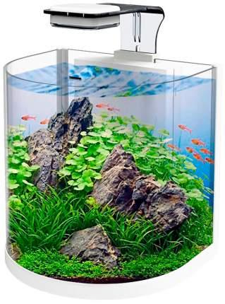 Аквариум для растений, для рыб Atman BGT-25, дуговой, белый 10 л