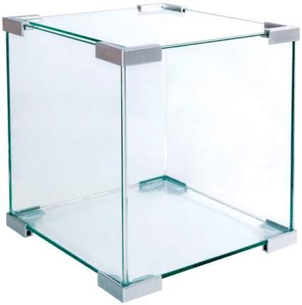 Аквариум для рыб Laguna Crystal 6002S, серебро, 18 л
