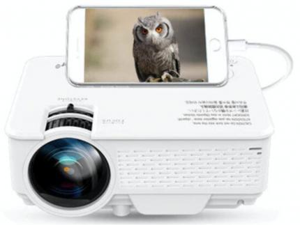 Видеопроектор TouYinger M4A 720P WiFi Mirroring White