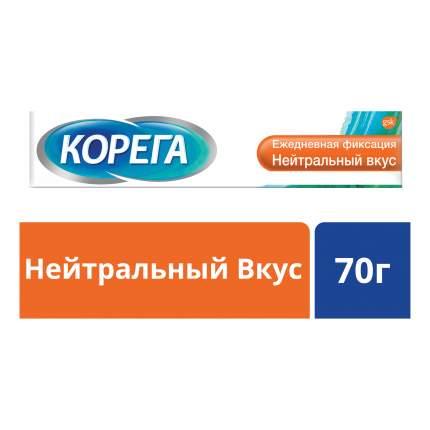 Крем для фиксации зубных протезов Corega Ежедневная защита, нейтральный вкус, 70 г