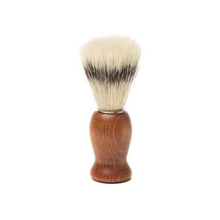 Помазок для бритья Mondial, дерево, свиной ворс