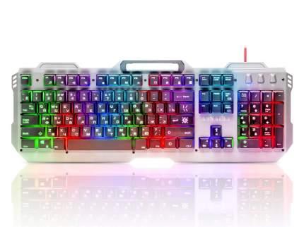 Игровая клавиатура Defender Assault GK-350L Silver/Black