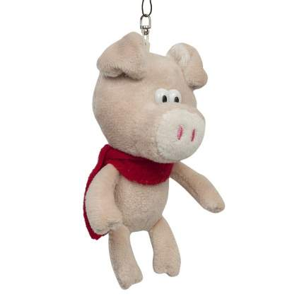 Мягкая игрушка Maxitoys Поросенок с бежевым носом, 12 см