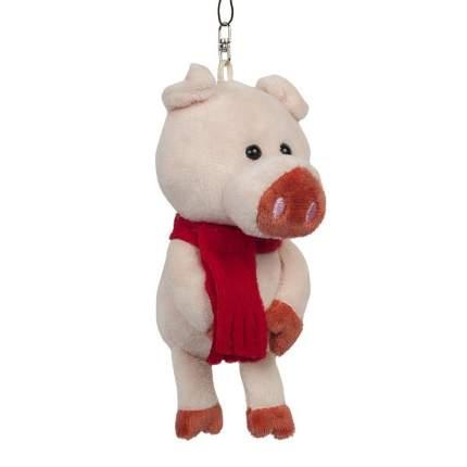 Мягкая игрушка Maxitoys Поросенок с красным носом, 13 см