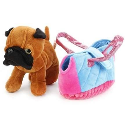 Мягкая игрушка My Friends Собака в сумочке, 15 см